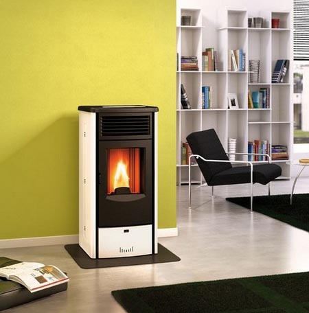 Cleo stufe pellet superior piazzetta cleo 6kw for Stufa a pellet iris